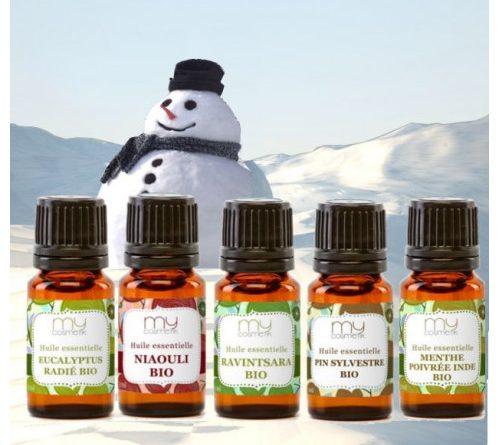Les huiles essentielles indispensables pour l'hiver